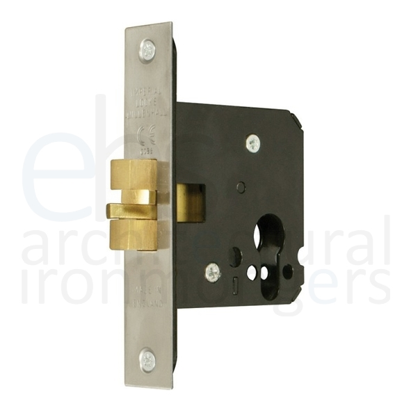 Architectural Euro Cylinder Sliding Door Lock Case